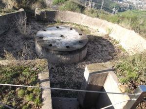 Plataforma atniaeria a Sant Pere Martir...encara en el misteri si fou artillada.