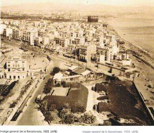 Bateria de Astilleros, Barceloneta, 1935