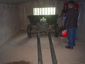 Interior posició d'Artilleria.