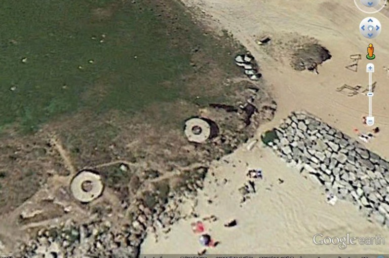 Vista de Google Earth.