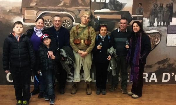 Foto de Familia del Final de la Visita a Subirats.