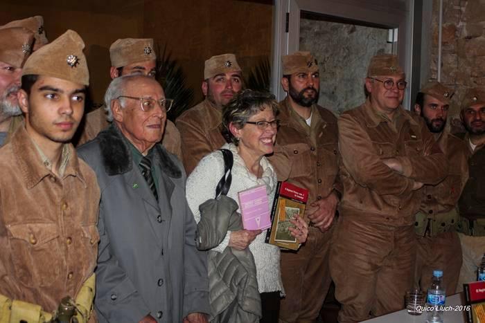 Recreadors amb Joan Escudé, el nostre veterà i Rosa Maria Prenafeta, biografa d'Andreu Xandri.