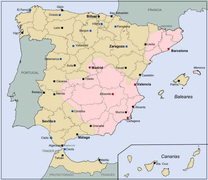 imatge espanya dividida